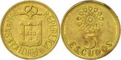 World Coins - Coin, Portugal, 5 Escudos, 1998, , Nickel-brass, KM:632