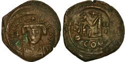 Ancient Coins - Coin, Heraclius, Follis, 612-613, Constantinople, , Copper, Sear:804
