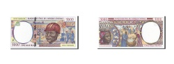 World Coins - Central African States, Chad, 5000 Francs, 1993-1994, KM:604Pc, 1997, UNC(65-70)