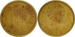 World Coins - Portugal, 5 Escudos, 1991, , Nickel-brass, KM:632