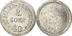 World Coins - Germany, Token, Füsilier-Regiments 2 Komp., 40, , Métal