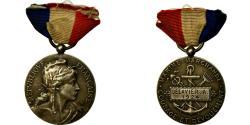 Ancient Coins - France, Marine Marchande, Courage et Dévouement, Medal, 1924, Excellent