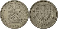 World Coins - Portugal, 2-1/2 Escudos, 1979, , Copper-nickel, KM:590