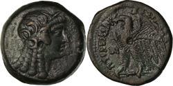 Ancient Coins - Coin, Egypt, Ptolemaic Kingdom, Ptolemy V, Dichalkon, 180-176 BC, Alexandria