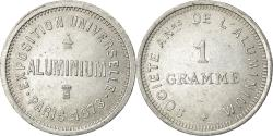 World Coins - Coin, France, Exposition Universelle, 1 Gramme, 1878, ESSAI,