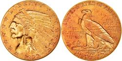 Us Coins - Coin, United States, Indian Head, $2.50, Quarter Eagle, 1927, U.S. Mint