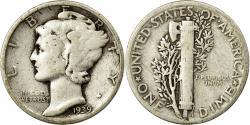 Us Coins - Coin, United States, Mercury Dime, Dime, 1939, U.S. Mint, Philadelphia