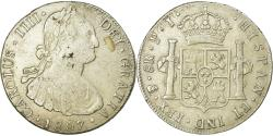 World Coins - Coin, Bolivia, Charles III, 8 Reales, 1807, Potosi, , Silver, KM:73