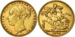 World Coins - Coin, Australia, Victoria, Sovereign, 1874, Sydney, , Gold, KM:7