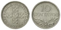 World Coins - Coin, Portugal, 10 Centavos, 1978, , Aluminum, KM:594