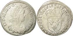 World Coins - Coin, France, Louis XIV, 1/12 Écu à la mèche longue, 1/12 ECU, 10 Sols, 1658