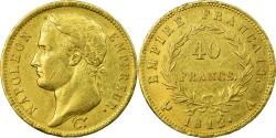 World Coins - Coin, France, Napoléon I, 40 Francs, 1812, Paris, , Gold, KM:696.1