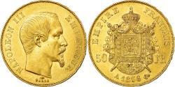 World Coins - Coin, France, Napoleon III, 50 Francs, 1856, Paris, , Gold