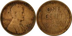 Us Coins - Coin, United States, Lincoln Cent, Cent, 1934, U.S. Mint, Philadelphia