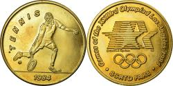Us Coins - United States of America, Medal, Jeux Olympiques de Los Angeles, Tennis, 1984