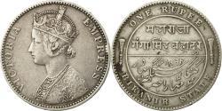 World Coins - Coin, INDIA-PRINCELY STATES, BIKANIR, Ganga Singh, Rupee, 1892, Bombay