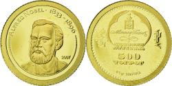 Ancient Coins - Coin, Mongolia, Alfred Nobel, 500 Tugrik, 2007, , Gold