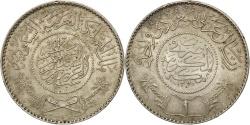 World Coins - SAUDI ARABIA, Riyal, 1954, KM #39, , Silver, 11.63