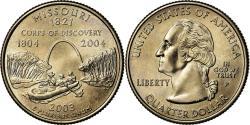 Us Coins - Coin, United States, Missouri, Quarter, 2003, U.S. Mint, Philadelphia