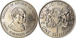 World Coins - Coin, Kenya, Shilling, 1989, British Royal Mint, , Copper-nickel, KM:20