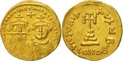 Heraclius, Solidus, Constantinople, , Gold, Sear:749