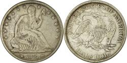 Us Coins - Coin, United States, Seated Liberty Half Dollar, Half Dollar, 1874, U.S. Mint
