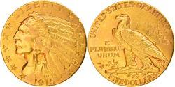 Us Coins - Coin, United States, Indian Head, $5, Half Eagle, 1915, Philadelphia,