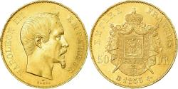 Ancient Coins - Coin, France, Napoleon III, Napoléon III, 50 Francs, 1855, Strasbourg