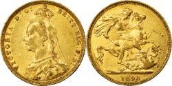 World Coins - Coin, Australia, Victoria, Sovereign, 1890, Sydney, , Gold, KM:10