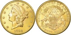 Us Coins - Coin, United States, $20, Double Eagle, 1898, San Francisco, , Gold
