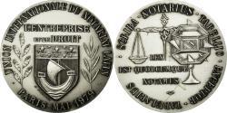 World Coins - France, Token, Union Internationale du Notariat Latin, Paris, 1979, Mauviel