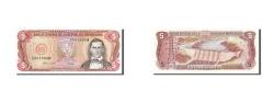 World Coins - Dominican Republic, 5 Pesos Oro, 1988, KM #118c, UNC(65-70), C001560W
