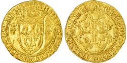 World Coins - Coin, France, Charles VII, Ecu d'or, Montélimar, , Gold, Duplessy:511