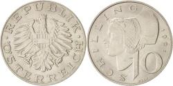 World Coins - Austria, 10 Schilling, 1991, , Copper-Nickel Plated Nickel, KM:2918