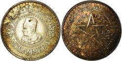 World Coins - Coin, Morocco, Mohammed V, 500 Francs, 1956, Paris, , Silver, KM:54