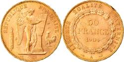 World Coins - Coin, France, Génie, 50 Francs, 1904, Paris, , Gold, KM:831