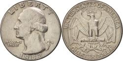 Us Coins - United States, Washington Quarter, Quarter, 1982, U.S. Mint, Denver