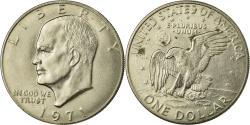 Us Coins - Coin, United States, Eisenhower Dollar, Dollar, 1971, U.S. Mint, Philadelphia