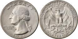 Us Coins - Coin, United States, Washington Quarter, Quarter, 1945, U.S. Mint, Philadelphia
