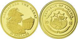World Coins - Coin, Liberia, Alexandre le Grand, 25 Dollars, 2001, , Gold