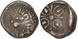 Ancient Coins - Satraps of Caria, Obol, 395-377 BC, Hekatomnos, , Silver