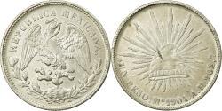World Coins - MEXICO, Peso, 1901, Mexico City, KM #409.2, , Silver, 39, 26.94