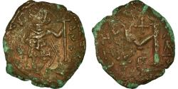 Ancient Coins - Coin, Tiberius III, Follis, 701-702, Constantinople, , Copper