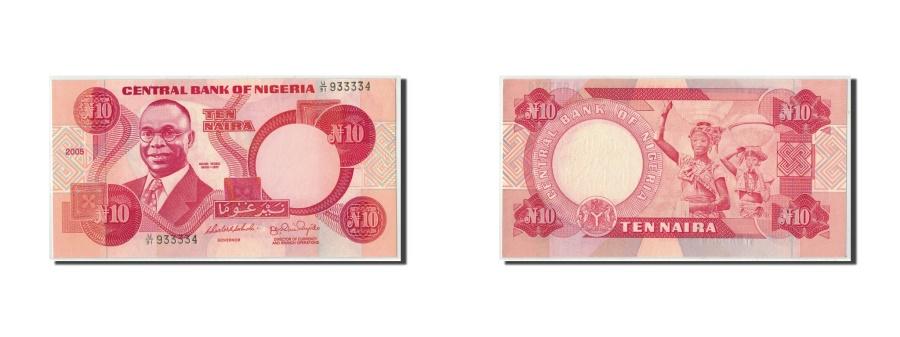 World Coins - Nigeria, 10 Naira, 2005, KM:25h, UNC(65-70)