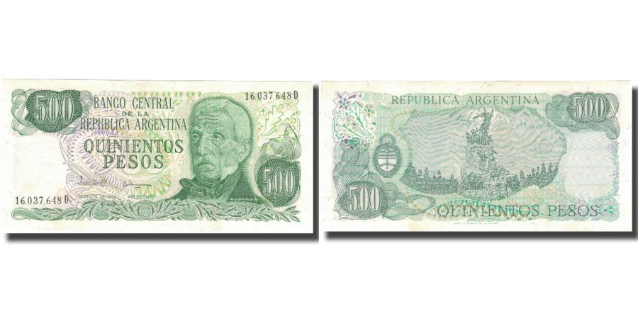 World Coins - Banknote, Argentina, 500 Pesos, KM:303c, UNC(64)