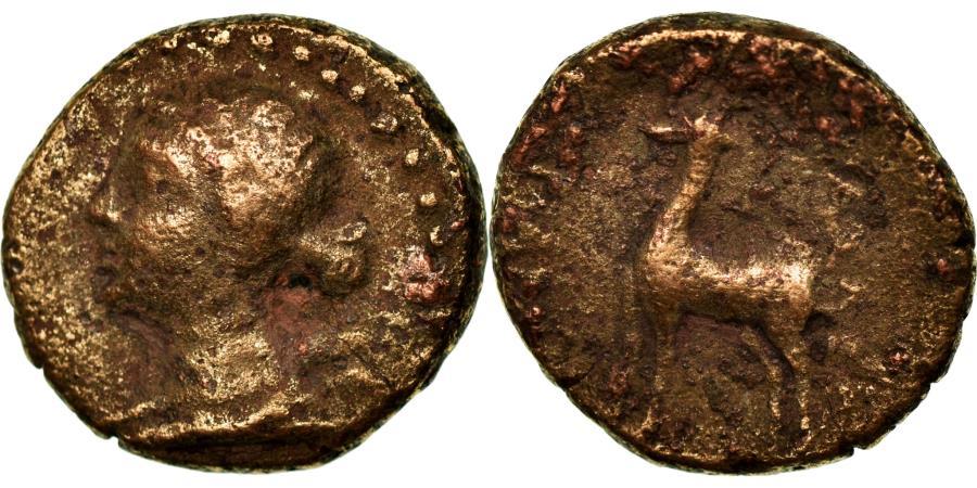 Ancient Coins - Coin, Cappadocia, Ariarathes IV-VII, Bronze Æ, 200-101 BC, Eusebeia,