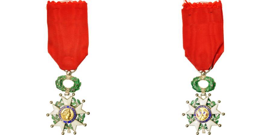 World Coins - France, Légion d'Honneur, Troisième République, Medal, 1870, Excellent