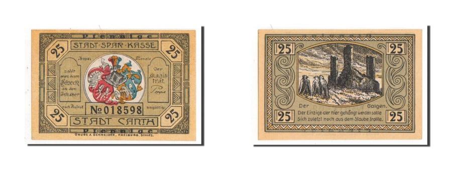World Coins - Germany, Canth Stadt, 25 Pfennig, AU(55-58), 018598, Mehl #220.2