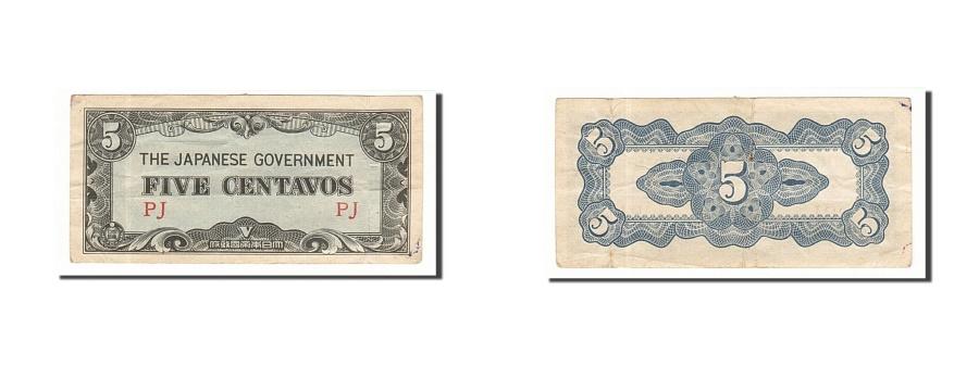 World Coins - Philippines, 5 Centavos, 1942, KM #103a, EF(40-45), PJ