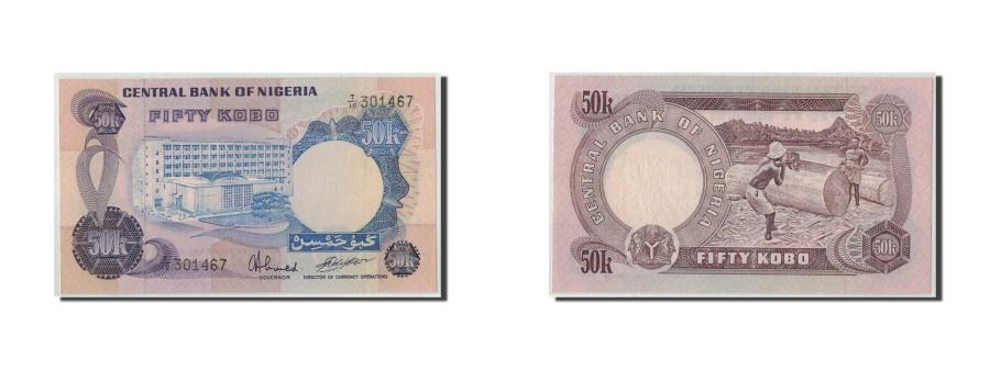 World Coins - Nigeria, 50 Kobo, KM:14j, UNC(65-70)
